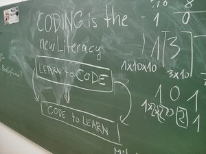 coding is the new literacy