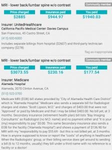 Pricey MRI