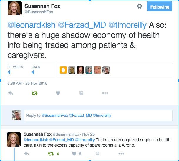 Susannah Fox Twitter